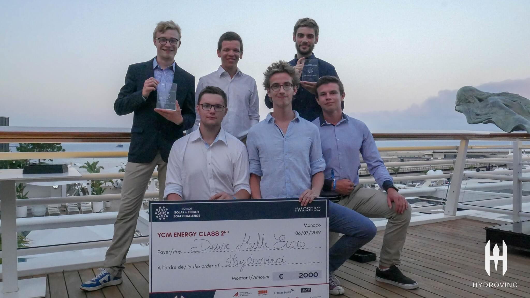 Prix de la communication vidéo obtenu lors du Monaco Solar Energy Boat Challenge (MSEBC)