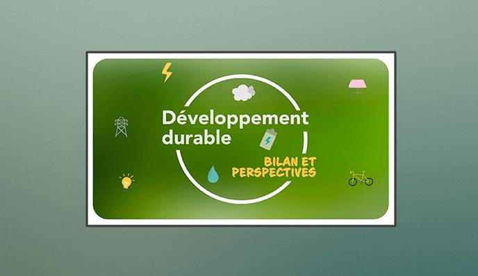 Rapport féveloppement durable 2020